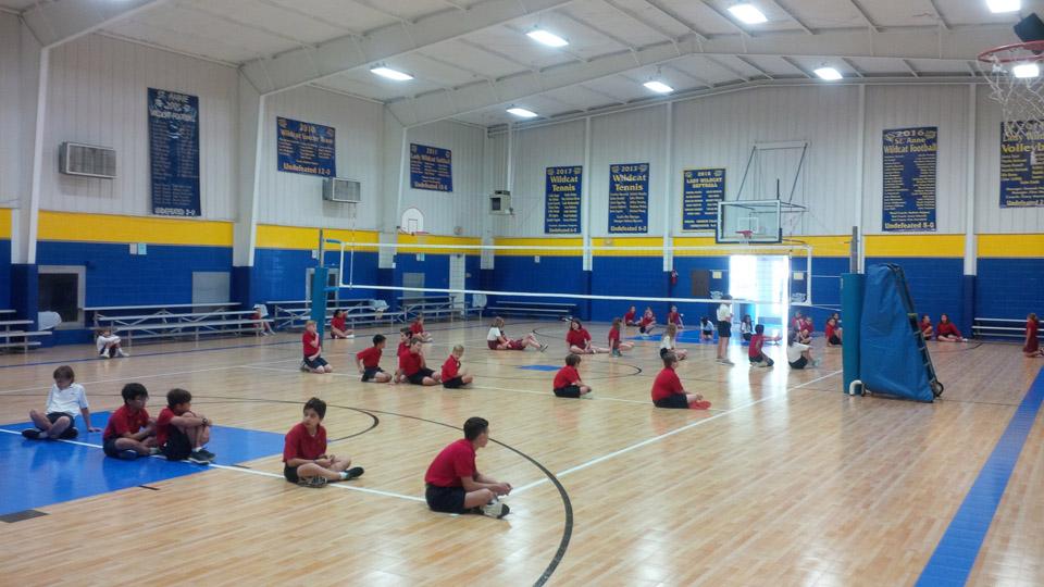 Elementary Gym | Sport Court Texas