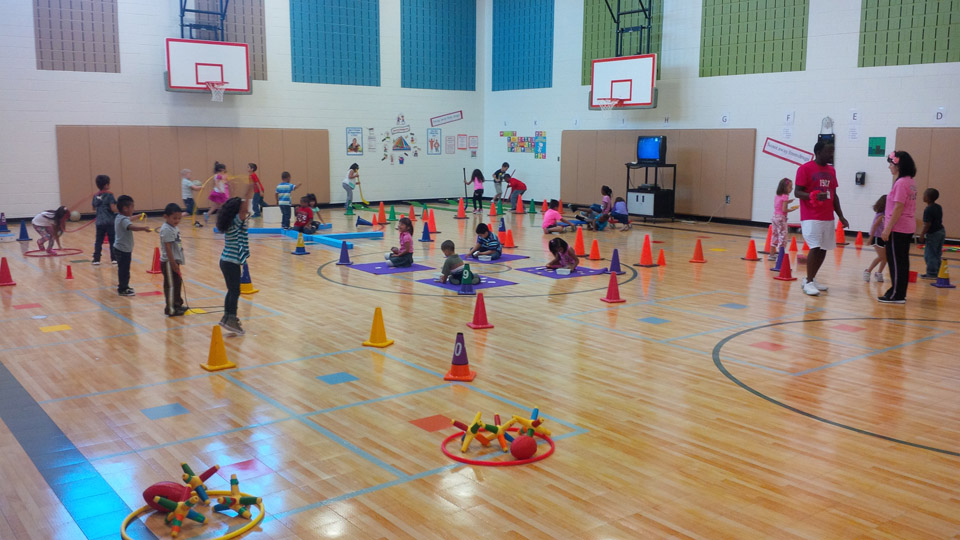 Alton Elementary | Sport Court Texas