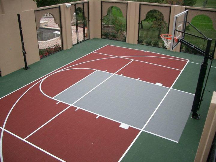 Half Court   Sport Court Texas