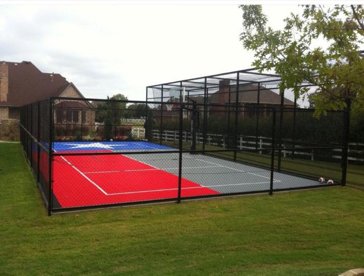 Flower Mound   Sport Court Texas