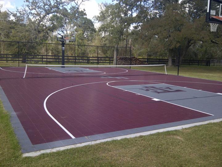 Foster Court   Sport Court Texas