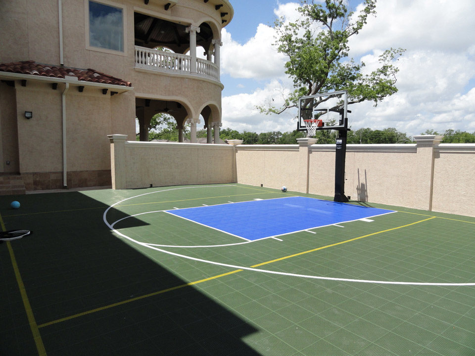 Basketball Courts Sport Court Texas