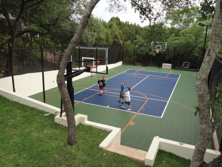 Ledet 35 x 65   Sport Court Texas
