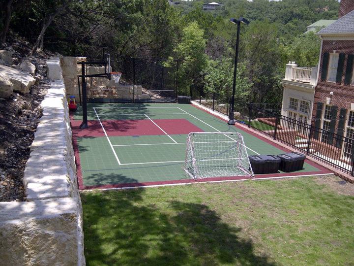 Manning Residence   Sport Court Texas