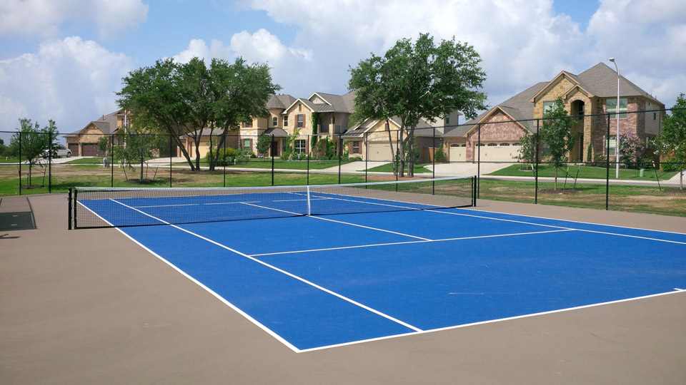 Pearson Place Tennis Court