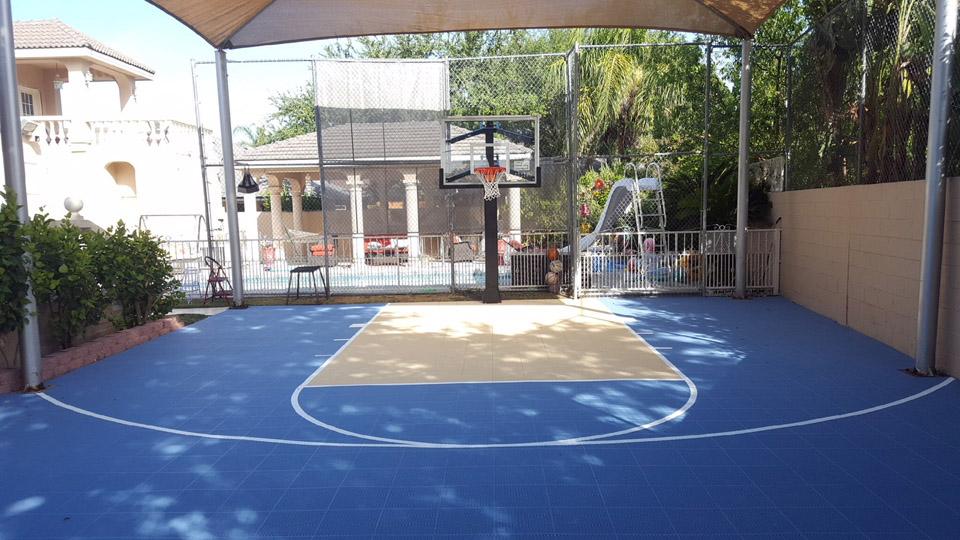 Backyard Court   Sport Court Texas