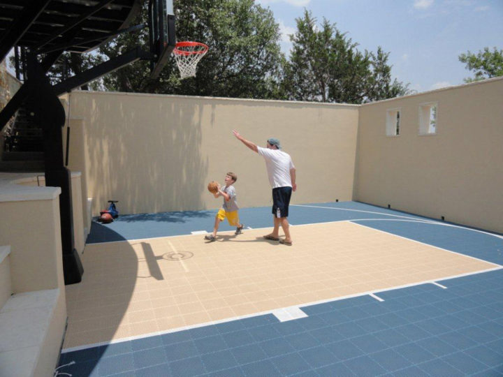 White 25 x 30 | Sport Court Texas
